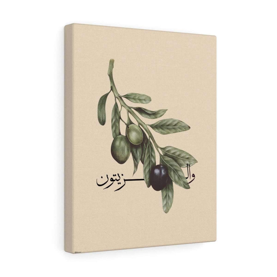 Canvas 12″ × 16″ / Premium Gallery Wraps (1.25″) Olive Branch Canvas Print