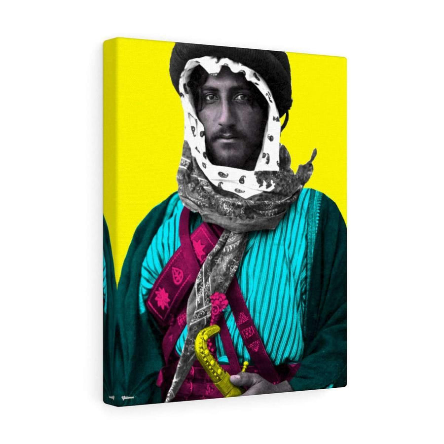 Canvas 12″ × 16″ / Premium Gallery Wraps (1.25″) The Bedouin Canvas Print