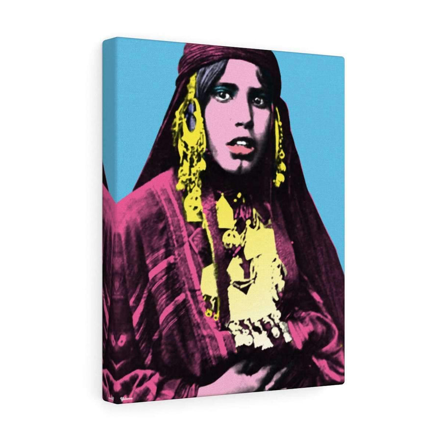 Canvas 12″ × 16″ / Premium Gallery Wraps (1.25″) The Bedouinista Canvas Print