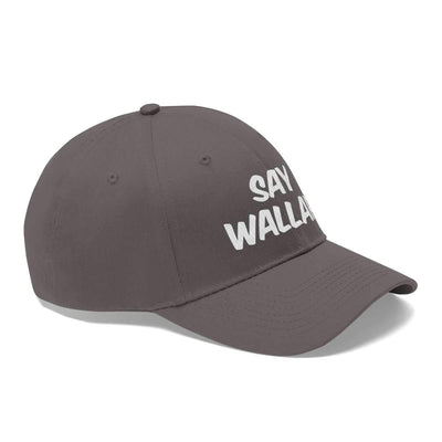 Hats Say Wallah! Unisex Twill Hat