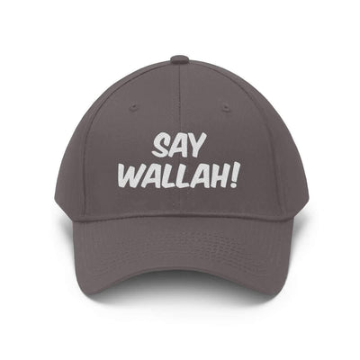 Hats Charcoal / One size Say Wallah! Unisex Twill Hat