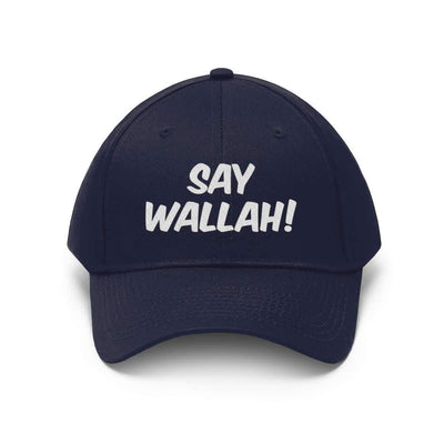 Hats True Navy / One size Say Wallah! Unisex Twill Hat