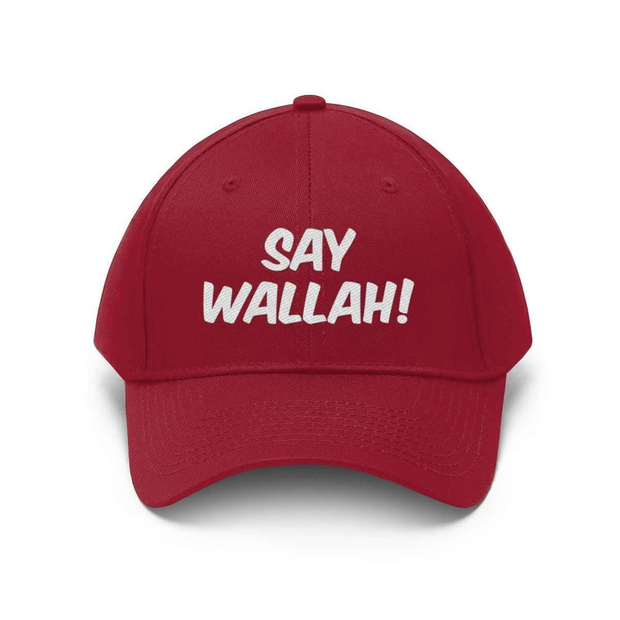 Hats Black / One size Say Wallah! Unisex Twill Hat