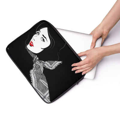 Laptop Sleeve Black Shemagh Laptop Sleeve