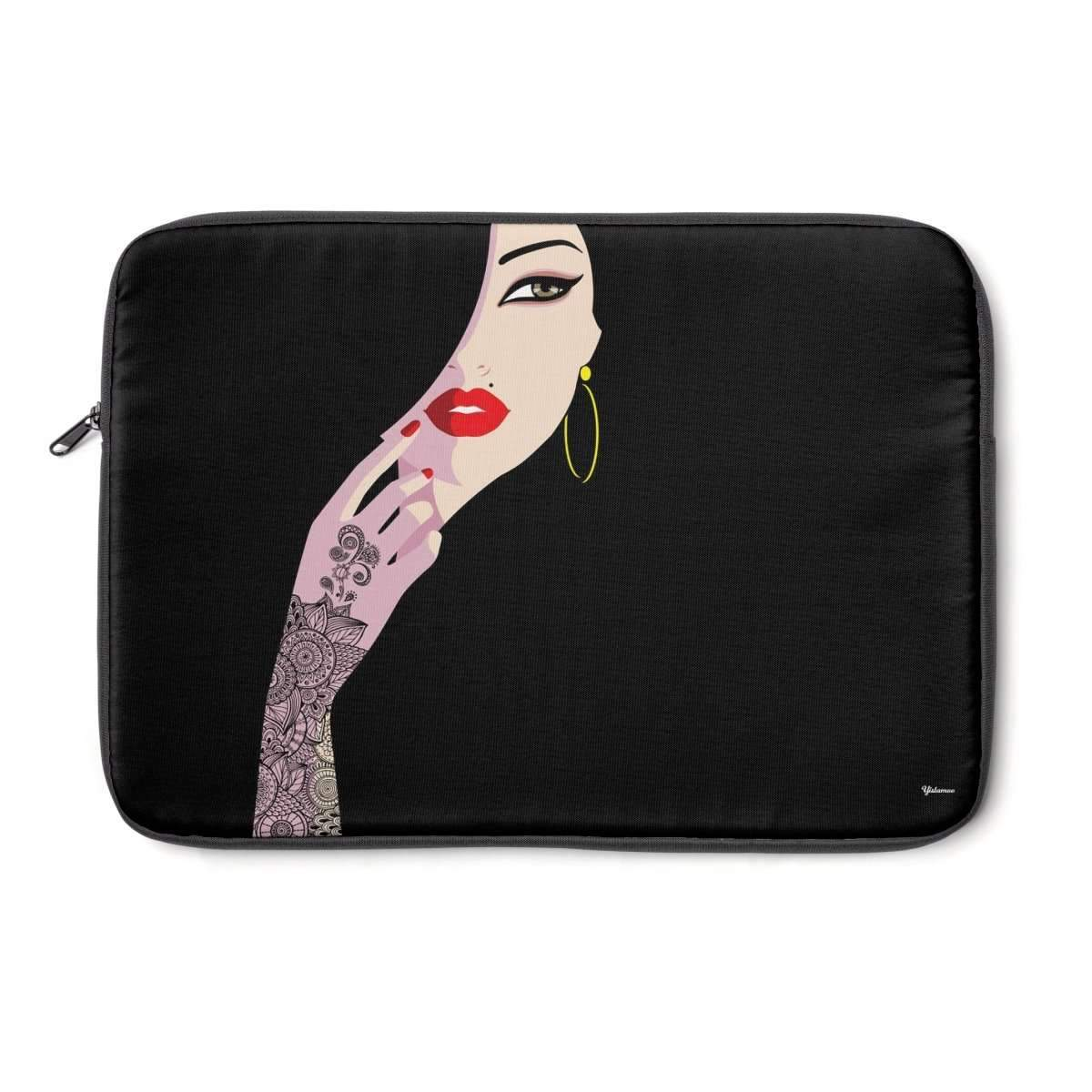 "Laptop Sleeve 13"" Henna Lady Laptop Sleeve"