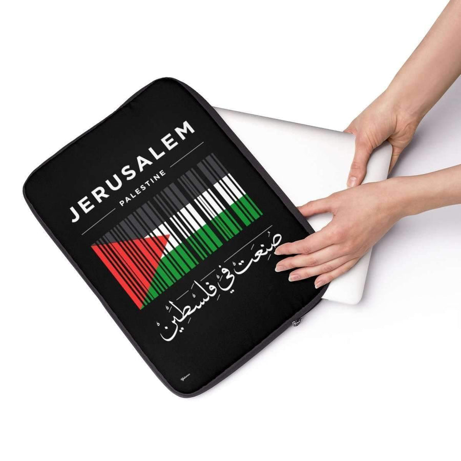 "Laptop Sleeve 13"" Jerusalem is the Capital of Palestine Laptop Sleeve"