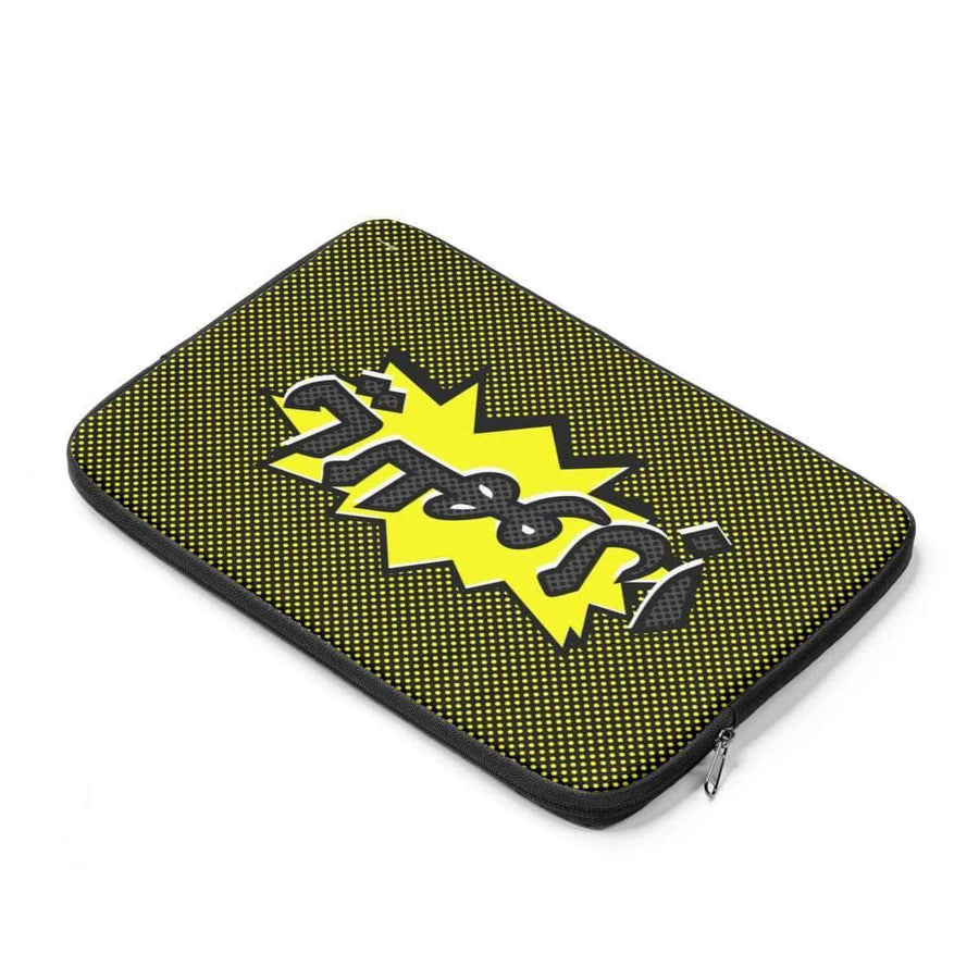 "Laptop Sleeve 13"" ياللهول OMG Laptop Sleeve-Yellow"