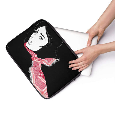 Laptop Sleeve Red Shemagh Laptop Sleeve