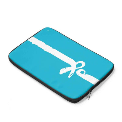 Laptop Sleeve Salam | Peace Azure Laptop Sleeve