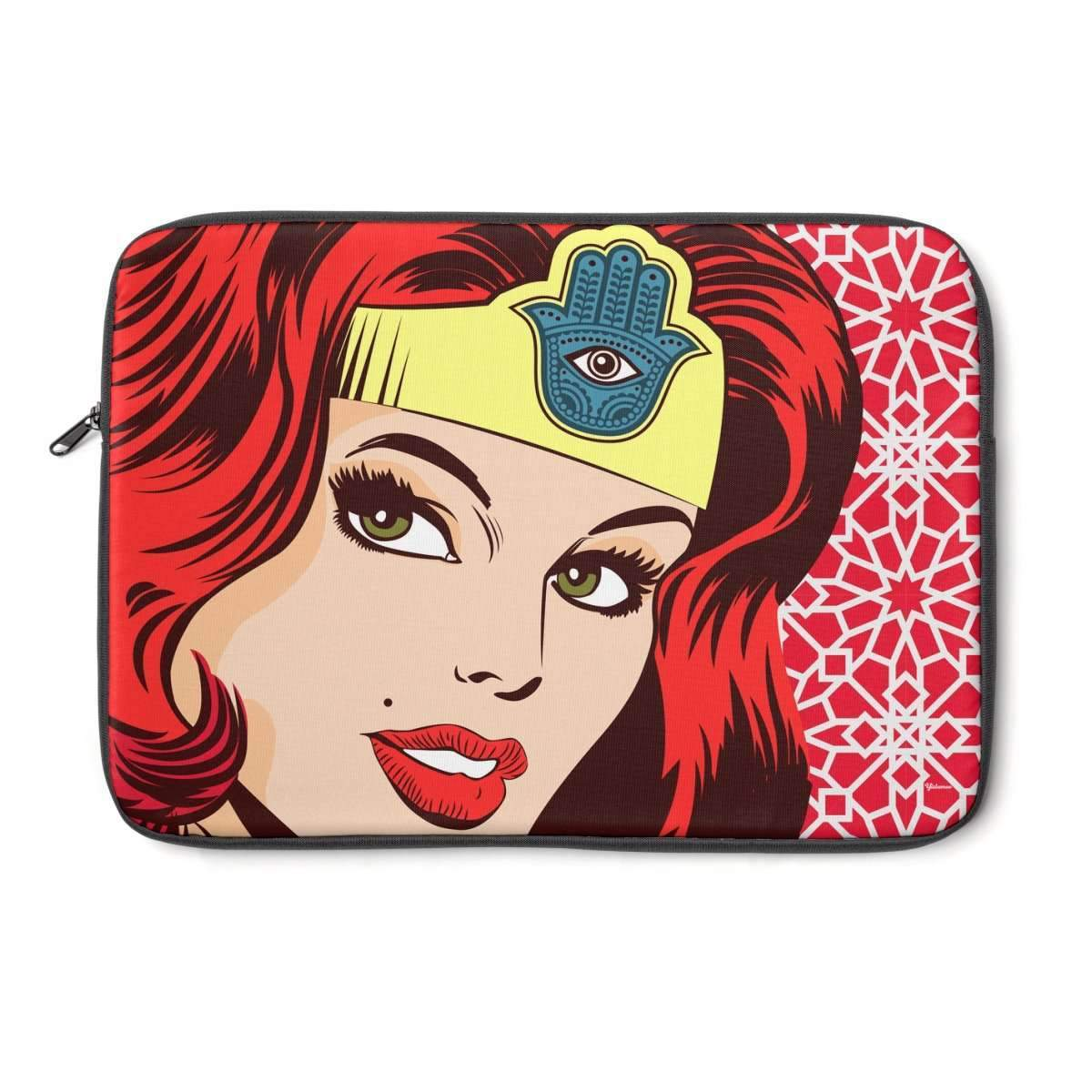 "Laptop Sleeve 13"" Wonder Dame of Arabia Laptop Sleeve"
