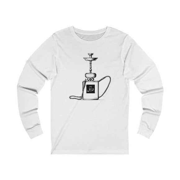 Long-sleeve White / L Chanel Hookah Long Sleeve Tee