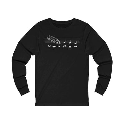 Long-sleeve Black / S Do Re Me - Long Sleeve Tee