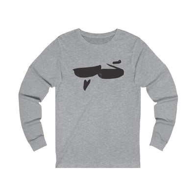 Long-sleeve Athletic Heather / S Hob | Love - Long Sleeve Tee