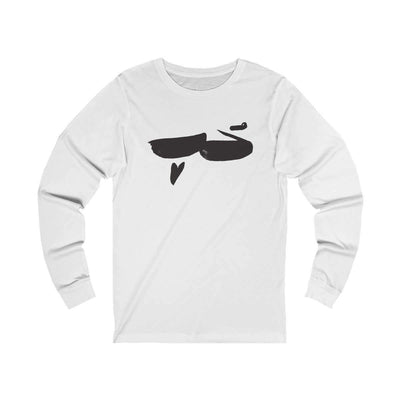 Long-sleeve White / S Hob | Love - Long Sleeve Tee