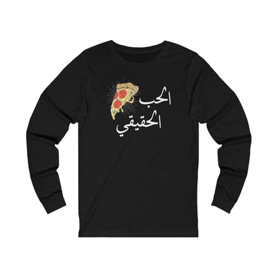 Long-sleeve Black / S True Love Unisex Jersey Long Sleeve Tee