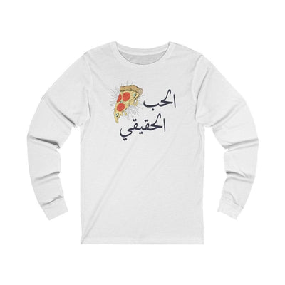 Long-sleeve White / L True Love Unisex Jersey Long Sleeve Tee