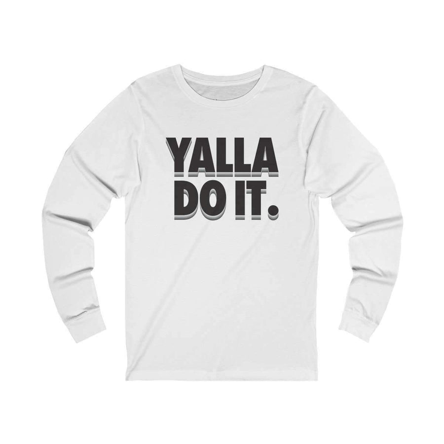 Long-sleeve Cardinal / L Yalla Do it! - Long Sleeve Tee