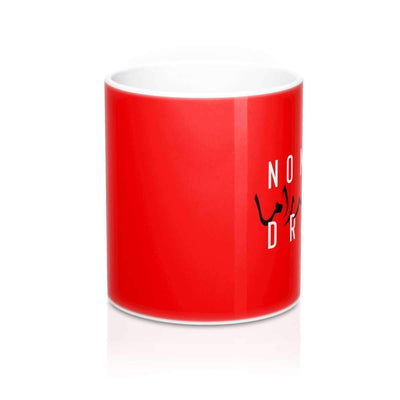 Mug 11oz No More Drama Mug - Red