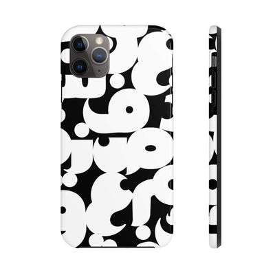 Phone Case iPhone 11 Pro Max Arabic Alphabet Case Mate Tough Phone Cases