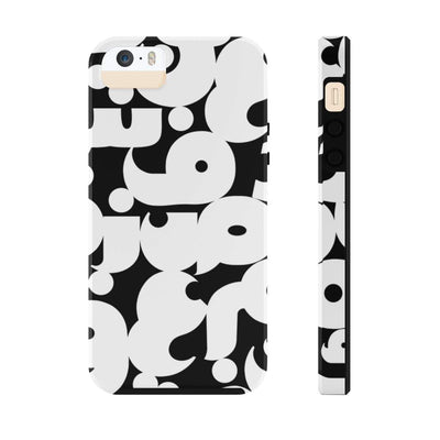 Phone Case iPhone 5/5s/5se Tough Arabic Alphabet Case Mate Tough Phone Cases