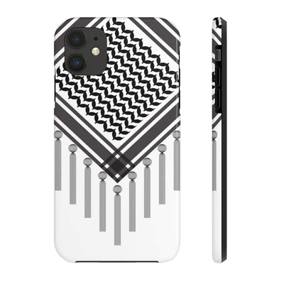 Phone Case iPhone 11 Pro Bedouin Scarf - Black Case Mate Tough Phone Cases