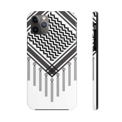 Phone Case iPhone 11 Pro Max Bedouin Scarf - Black Case Mate Tough Phone Cases