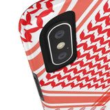 Phone Case Bedouin Scarf - Red Case Mate Tough Phone Cases