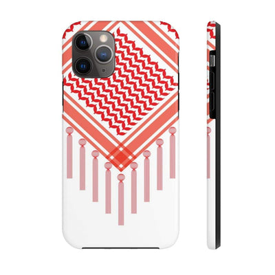 Phone Case iPhone 11 Pro Bedouin Scarf - Red Case Mate Tough Phone Cases