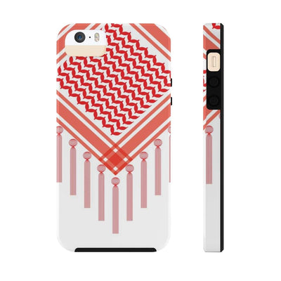 Phone Case iPhone 5/5s/5se Tough Bedouin Scarf - Red Case Mate Tough Phone Cases