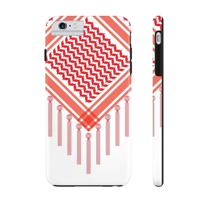 Phone Case iPhone 6/6s Plus Tough Bedouin Scarf - Red Case Mate Tough Phone Cases