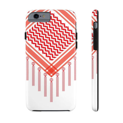 Phone Case iPhone 6/6s Tough Bedouin Scarf - Red Case Mate Tough Phone Cases