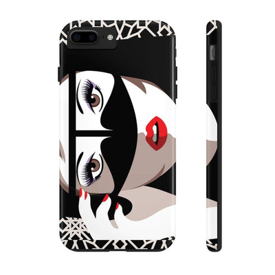 Phone Case iPhone 7 Plus, iPhone 8 Plus Tough Hello Gorgeous Case Mate Tough Phone Cases