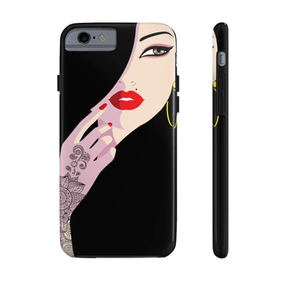 Phone Case iPhone 6/6s Tough Henna Lady Case Mate Tough Phone Cases
