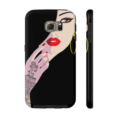 Phone Case Samsung Galaxy S6 Tough Henna Lady Case Mate Tough Phone Cases