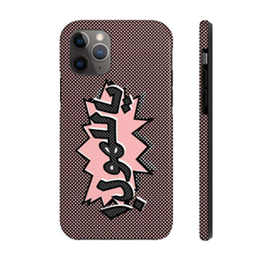 Phone Case iPhone 11 Pro OMG - Pink Case Mate Tough Phone Cases