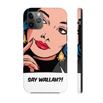 Phone Case iPhone 11 Pro Say Wallah Case Mate Tough Phone Cases