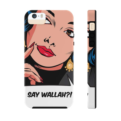 Phone Case iPhone 5/5s/5se Tough Say Wallah Case Mate Tough Phone Cases