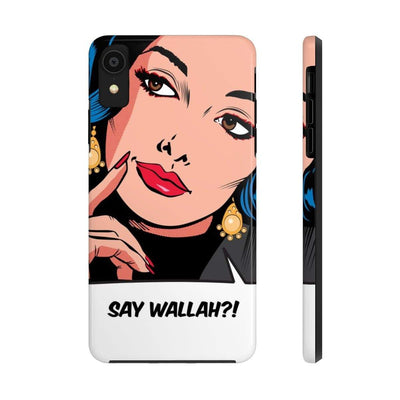 Phone Case iPhone XR Say Wallah Case Mate Tough Phone Cases