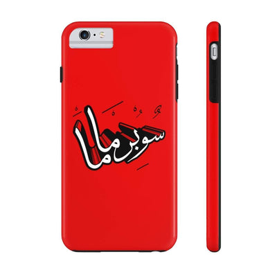 Phone Case iPhone 6/6s Plus Tough Supermama - Red Case Mate Tough Phone Cases