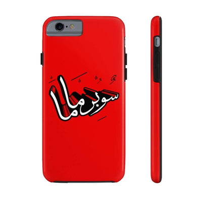 Phone Case iPhone 6/6s Tough Supermama - Red Case Mate Tough Phone Cases