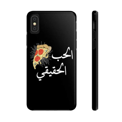 Phone Case iPhone X Tough True Love - Black Case Mate Tough Phone Cases