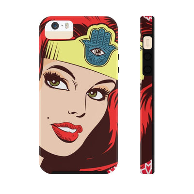 Phone Case iPhone 5/5s/5se Tough Wonder Dame of Arabia Case Mate Tough Phone Cases