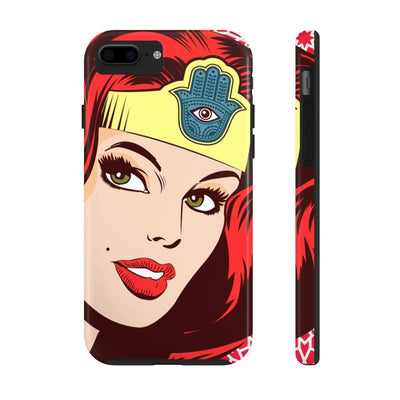 Phone Case iPhone 7, iPhone 8 Tough Wonder Dame of Arabia Case Mate Tough Phone Cases