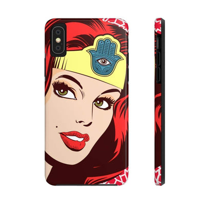 Phone Case iPhone X Tough Wonder Dame of Arabia Case Mate Tough Phone Cases