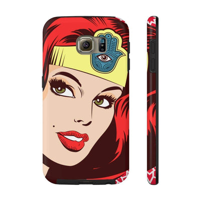 Phone Case Samsung Galaxy S6 Tough Wonder Dame of Arabia Case Mate Tough Phone Cases