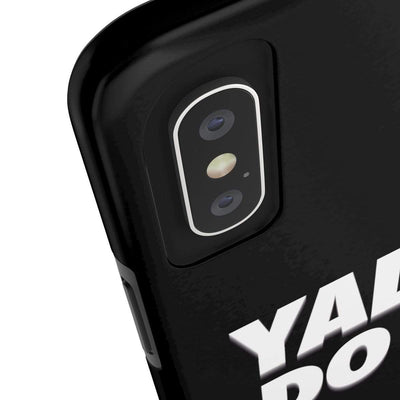 Phone Case Yalla Do it - Black Case Mate Tough Phone Cases
