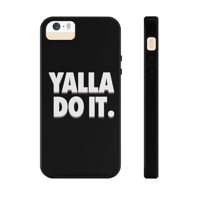 Phone Case iPhone 5/5s/5se Tough Yalla Do it - Black Case Mate Tough Phone Cases