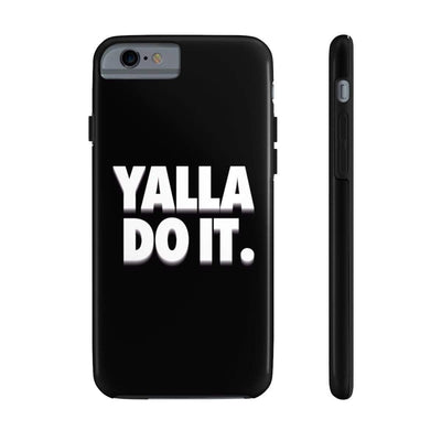 Phone Case iPhone 6/6s Tough Yalla Do it - Black Case Mate Tough Phone Cases