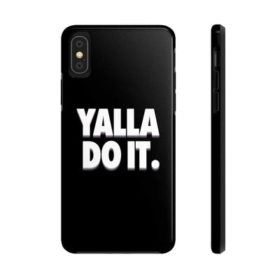 Phone Case iPhone X Tough Yalla Do it - Black Case Mate Tough Phone Cases