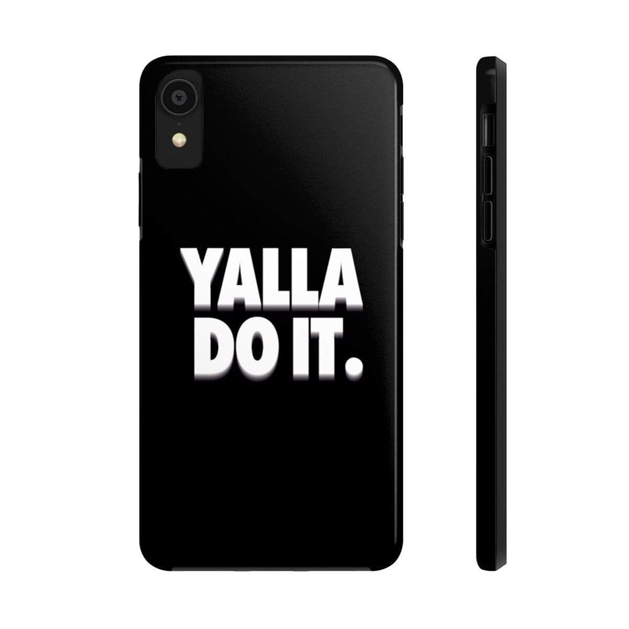 Phone Case iPhone 11 Pro Yalla Do it - Black Case Mate Tough Phone Cases